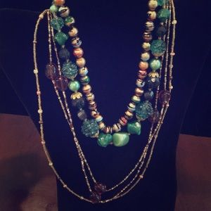 Necklace Lot- Featuring 4 Costume Jewelry Pieces